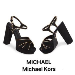 MICHAEL Michael Kors Lexie Suede Platform Sandal